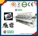 Wonyo six fonctions automatisées de machine de broderie mélangées par tête pour le chapeau/à plat la broderie