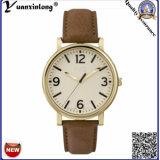Yxl-301 Relógios femininos promocionais Quartz Moda Couro Senhora Vestido Relógio de pulso OEM Design simples Relógio relógio mais quente das mulheres