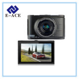Gravador de vídeo de Dashcam do automóvel de Novatek mini carro DVR do indicador de 3.0 polegadas