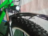 كهربائيّة وسط درّاجة مع زجاجة بطّاريّة