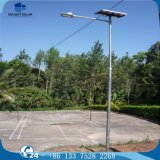 Grid Hybrid Anti-Theft Stainless Steel Screw Solar LED Street Lamp