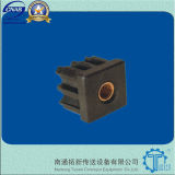 Le tube de rectangle termine les composants de convoyeur (TX-709)