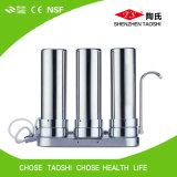 3つの段階のテーブルの上水清浄器のカウンタートップフィルター
