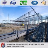 Exposición de acero grande moderna/edificio/construcción prefabricados