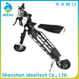 """""""trotinette"""" elétrico de Hoverboard da mobilidade Foldable preta da alta qualidade 350W"""