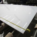 Белые искусственние каменные материальные слябы кварца (170506)