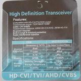 Transformateur symétrique visuel de la télévision en circuit fermé BNC pour l'appareil-photo de HD-Cvi/Tvi/Ahd (VB102pH)