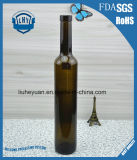 bouteille à haute teneur de vin rouge en verre 500ml vert