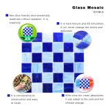 Het Bouwmateriaal smolt het Decoratieve Blauwe Mozaïek van het Gebrandschilderd glas van de Tegel van de Vloer