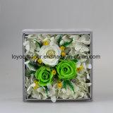 Flor artificial preservada de la flor hecha a mano de la flor fresca