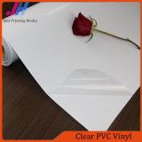Claro brillante del vinilo del PVC para publicidad interior