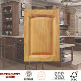 Porta de gabinete de madeira da cozinha da mobília antiga (GSP5-008)