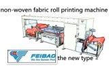 짠것이 아닌 직물 스크린 평상형 트레일러 인쇄 기계