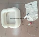 Bassin gonflable portable pour lavage de cheveux à air portable