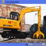 Un escavatore caldo di 2017 vendite per costruzione