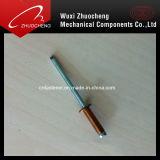 Rivet à tête bombée en acier en aluminium de haute résistance d'abat-jour de DIN7337 Opentype