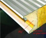 Стена и крыша панели сандвича шерстей утеса термоизоляции