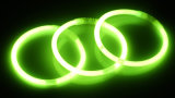 PET Material 5*200mm mit Connectors Chemical 8 '' Glow Bracelet