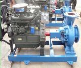4 pulgadas 5HP alta presión diesel Bomba de agua del coche de bomberos
