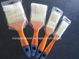 Естественная ручка щетки краски щетинки деревянная