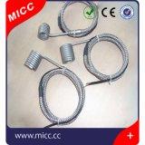 Micc calefator de bobina quente do corredor da mola com par termoeléctrico J