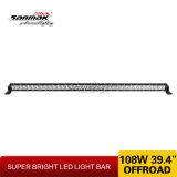 "108W 39 "" sola barra ligera de la fila LED con las consolas de montaje"