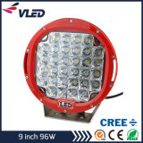 Het LEIDENE Lichte 9 LEIDENE '' CREE Drijven Licht (IP68 4X4 Offroad Lamp om CREE 9inch het Werk 96W 160W 185W)