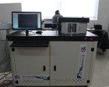 알루미늄 지구가 알루미늄을%s 로고 구부리는 기계를 광고하는 채널 편지에 의하여 감긴다