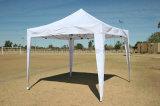 10X10FTのおおいのテントを折る白い昇進