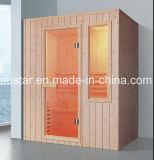 sauna di legno solido di rettangolo di 1600mm per 4 persone (AT-8629)