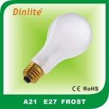 Ampoule incandescente d'A21 E27/B22 100W avec CE&RoHS