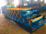 Drei Schicht Ibr Stahldach-Blatt-Rolle, die Maschine bildet