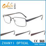 Blocco per grafici di titanio di vetro ottici di Eyewear del monocolo dell'ultimo Pieno-Blocco per grafici di disegno (9327)