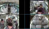 Auto GPS/3G/4G/SIM Mdvr des Flotten-Management-720p Ahd 4CH für LKW-Bus-Taxi