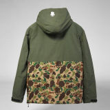 Vestito verde oliva 2017 dall'indumento dell'abito di usura del lavoro del panno del lavoro del rivestimento di qualità di onestà