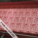Tela nupcial lindo do laço do nylon/rayon/algodão