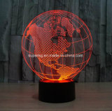 Lampe 3D en gros avec lampe de table en forme de globe LED