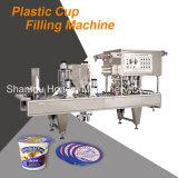 Автоматическая заполняя машина запечатывания для чашки югурта