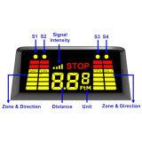 Sensores comerciais sem fio do estacionamento do caminhão com indicador de diodo emissor de luz