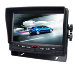 LCD 차 모니터, 7개 인치의, 16:9 디지털, 12V 및 24V, 얇고 및 작은, 자동 검사