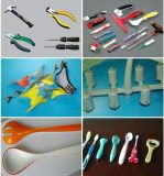 PVC 케이블 수직 플라스틱 주입 주조 형 기계