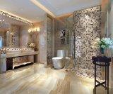 Zeichenstiftbrown-Marmorporzellan glasig-glänzende Fußboden-Fliesen