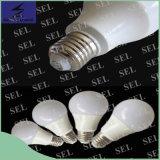 Luz de bulbo plástica del aluminio LED de la alta calidad