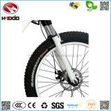 2017新しい500W電気浜のバイクのペダルが付いている脂肪質のタイヤの自転車のリチウム電池のEバイク