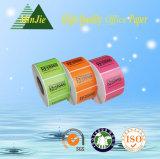 collant de papier adhésif thermique de numéro de codes barres d'étiquette d'impression de qualité de 50X30mm neuf