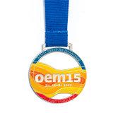 昇進は銅のマラソンの連続したメダルをくり抜く