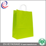 Euro sacs de papier de /Shopping de cadeau de mode faite sur commande de sacs en papier
