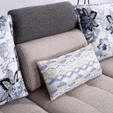 Sofá de la tela de la sala de estar del diseño moderno para los muebles del dormitorio del hotel - Fb1102