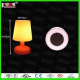Presente de controle remoto da lâmpada da atmosfera da lâmpada da decoração da lâmpada de tabela