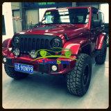 Parachoques delanteros de acero de Aev del estilo de gama alta para el Wrangler del jeep